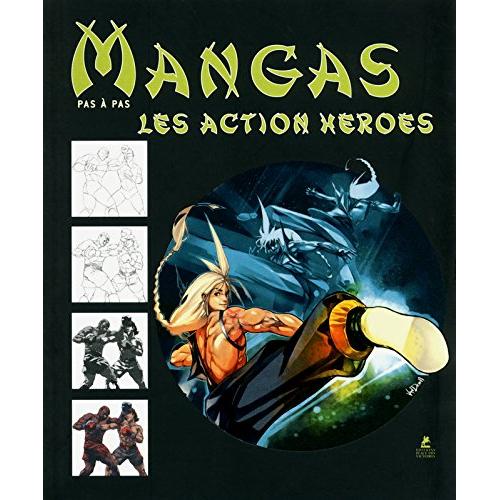 Mangas Pas à pas - Action Heroes (VF)