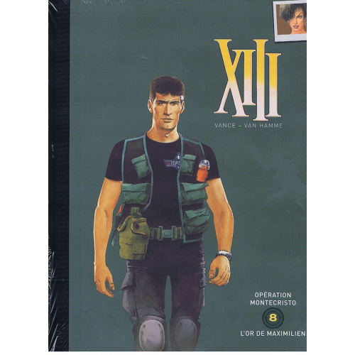 BD DOUBLE XIII OPERATION MONTECRISTO - L'OR DE MAXIMILIEN TOME 8 (VF)