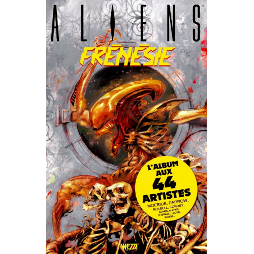 OFFERT : Aliens Frénésie - Exclusivité Totale Original Comics - 1000 ex