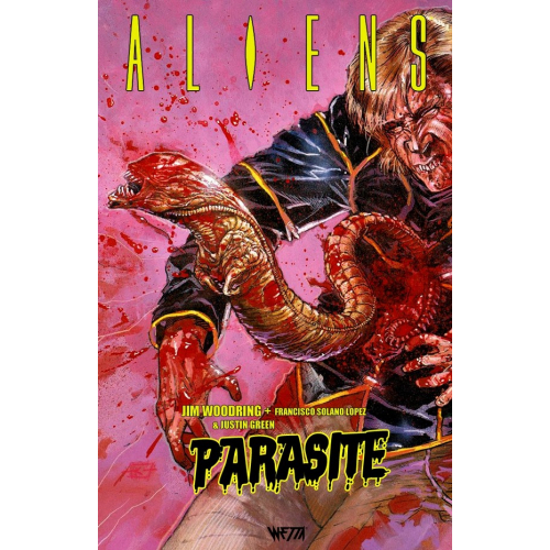 Aliens Parasite - Exclusivité Totale Original Comics - 1000 ex