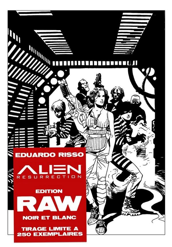 Alien resurrectionr Raw