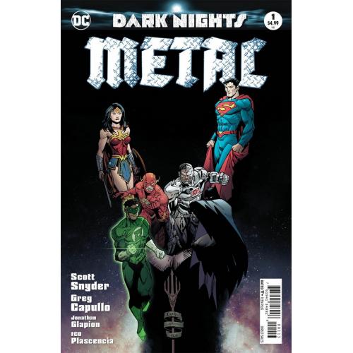 DARK NIGHTS : METAL 1-3RD PRINT (VO)