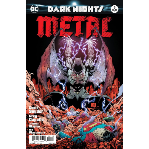 DARK NIGHTS : METAL 3 - 2ND PRINT (VO)