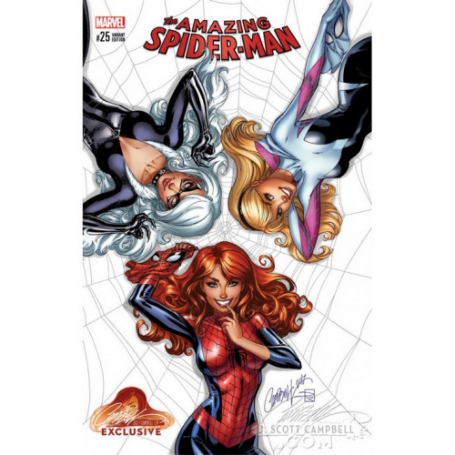 AMAZING SPIDER-MAN 25 CAMPBELL EXCLUSIVE COVER A (VO)