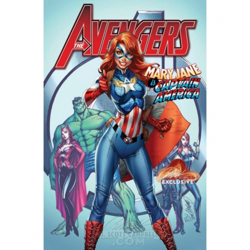 AVENGERS 8 CAMPBELL EXCLUSIVE COVER A (VO)