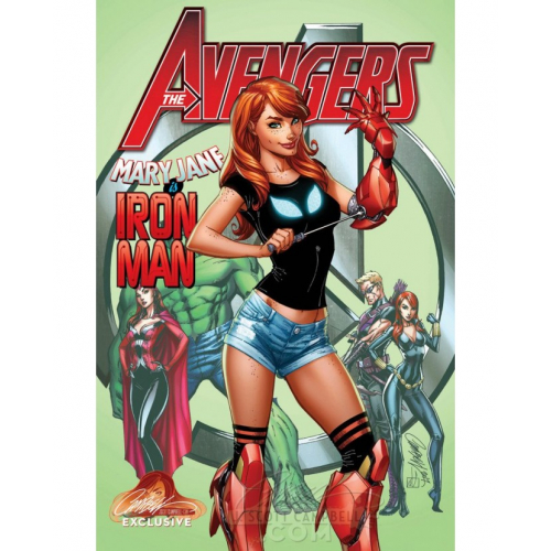 AVENGERS 8 CAMPBELL EXCLUSIVE COVER C (VO)