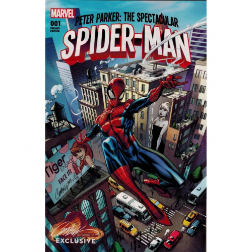 PETER PARKER : THE SPECTACULAR SPIDER-MAN 1 CAMPBELL EXCLUSIVE COVER A (VO)
