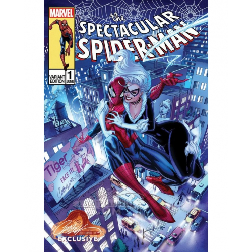 PETER PARKER : THE SPECTACULAR SPIDER-MAN 1 CAMPBELL EXCLUSIVE COVER C (VO)