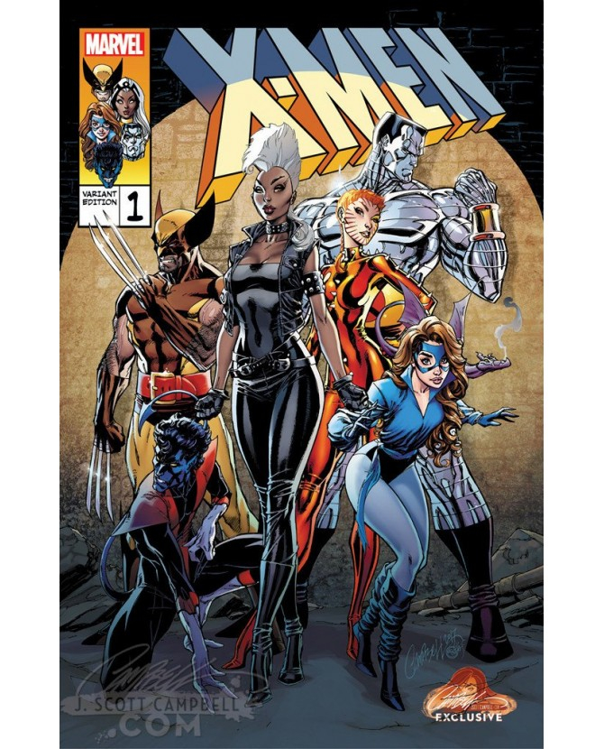 X-MEN GOLD 1 CAMPBELL EXCLUSIVE COVER B (VO)