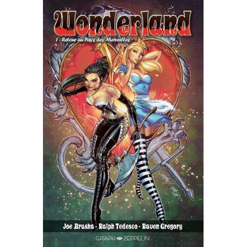 Wonderland tome 1 Edition Collector Original Comics 200 ex (VF)