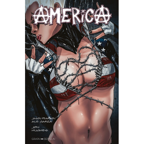 AMERICA tome 1 Edition Exclusive Original Comics 200 Ex (VF) Jason Pearson