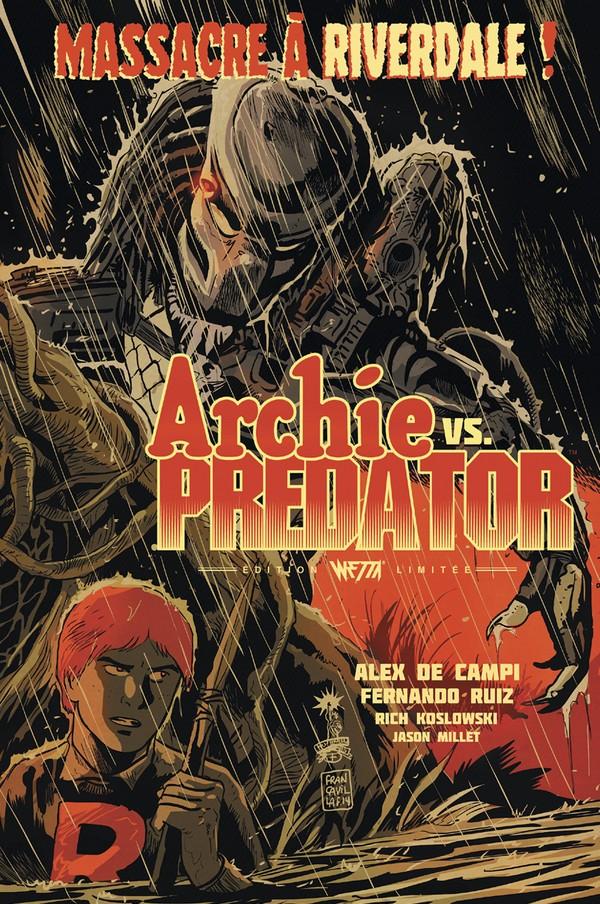 Archie Vs Predator Ed. Limitée Francavilla (VF)