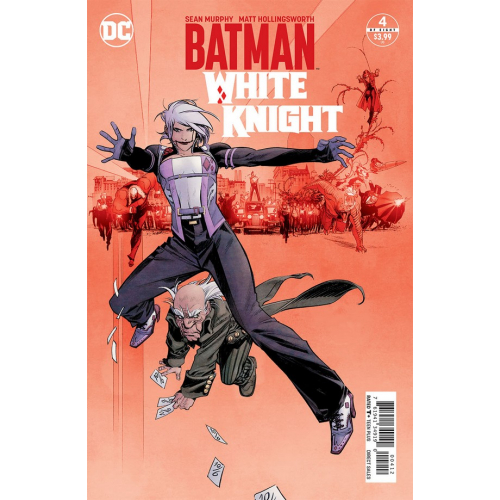 Batman : White Knight 4 - Sean Murphy - 2nd Print (VO)
