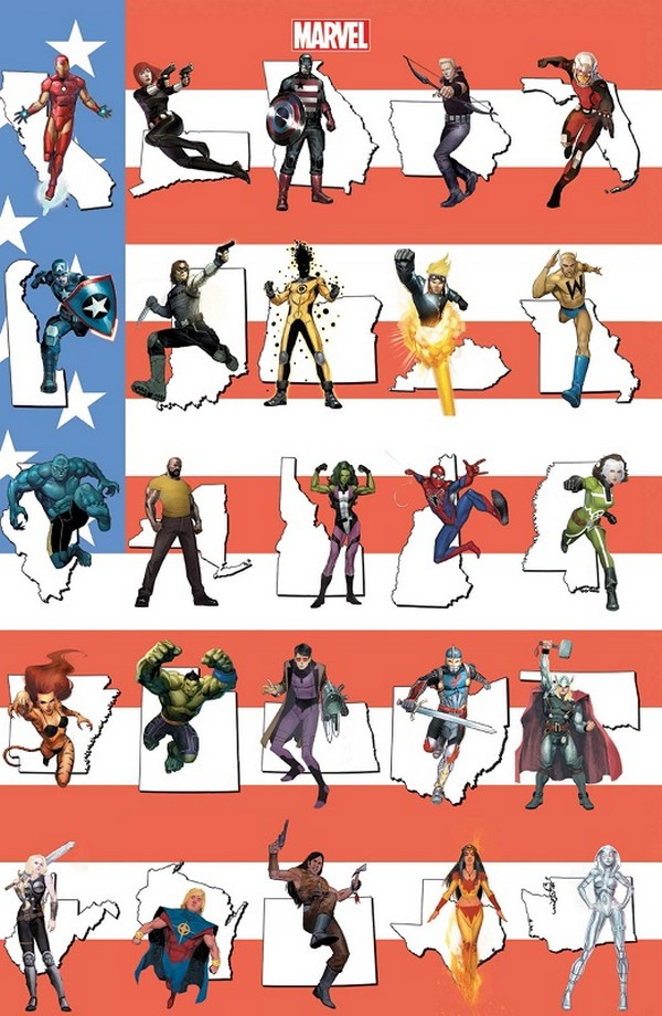 Avengers n°8 Variant Angoulême (VF)