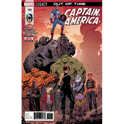 Captain America 700 (VO)