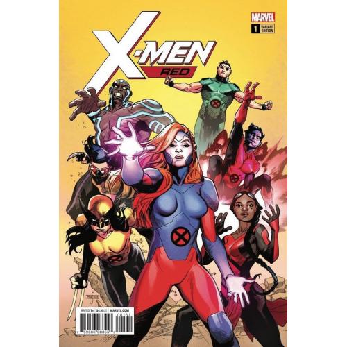 X-Men Red 1 Asrar Variant (VO)