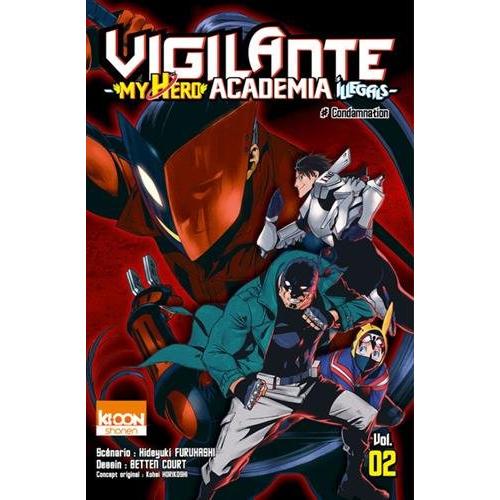 Vigilante - My Hero Academia Illegals Tome 2 (VF)