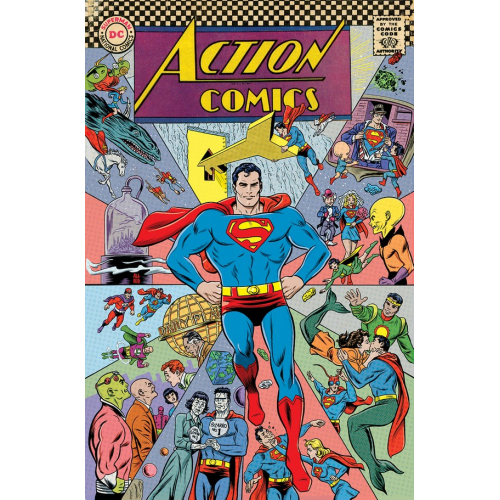 Action Comics 1000 Mike Allred 1960s Variant (VO)