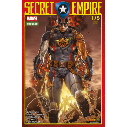 Secret Empire n°1 Variante Edition (VF)