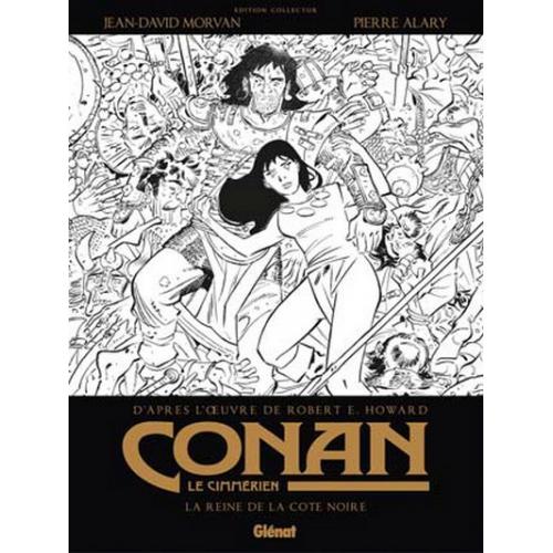 Conan le cimérien : la reine de la côte noire Édition Spéciale Noir et Blanc (VF)