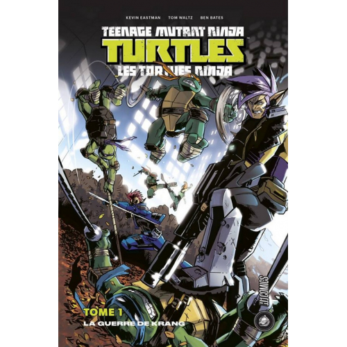 Teenage Mutant Ninja Turtles Tome 1 - La Guerre de Krang (VF)