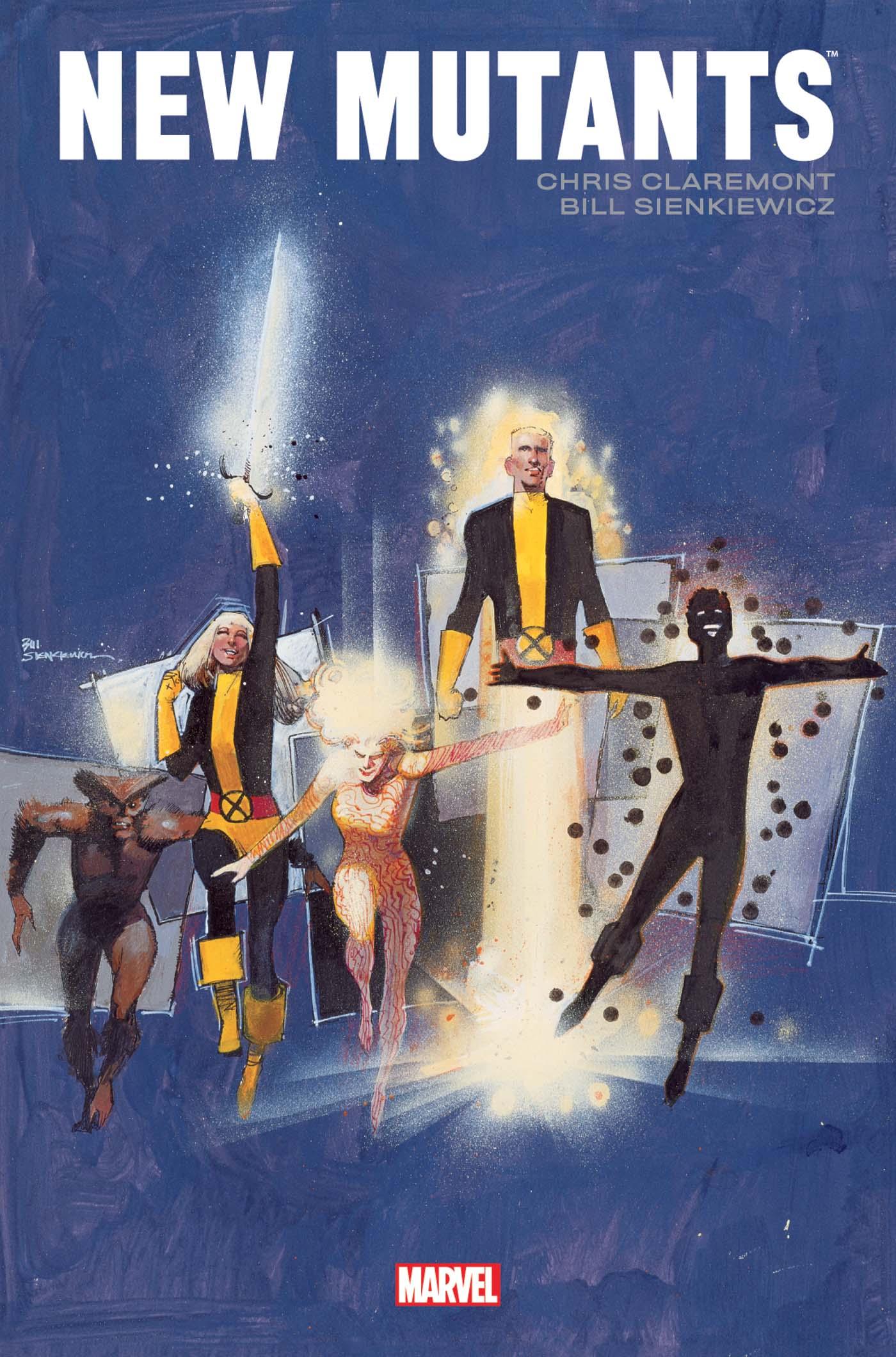 X-Men - Les Nouveaux Mutants par Claremont et Sienkiewicz (VF)