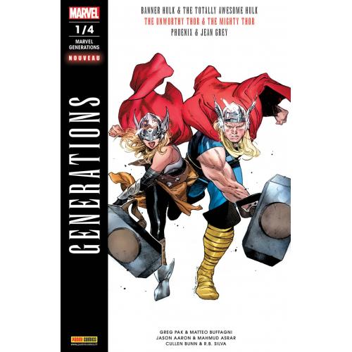 Marvel Generations n°1 (VF)
