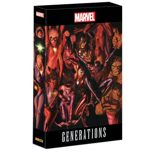 Marvel Generations n°1 Collector + Coffret (VF)