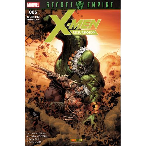 X-Men Resurrexion n°5 (VF)