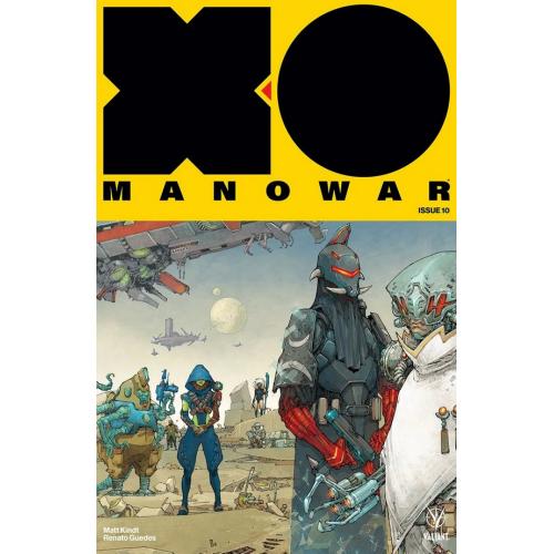 X-O Manowar 10 Cover B (VO)