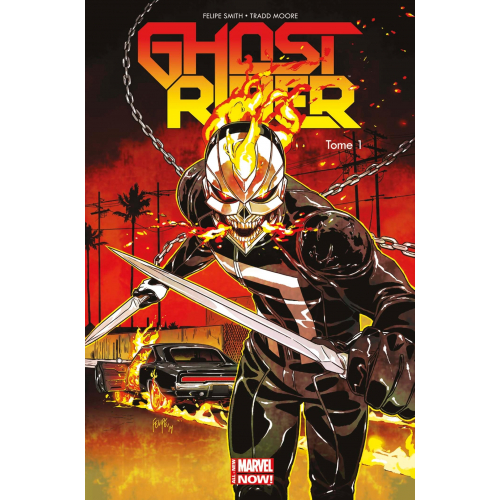 GHOST RIDER ALL NEW MARVEL NOW Tome 1 (VF)