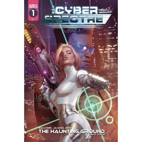 CYBER SPECTRE 1 (VO) Ale Garza - Jay Anacleto Variant Cover