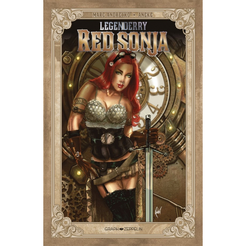 Legenderry : Red Sonja - Edition Collector Original Comics 200 Ex (VF) Couverture Cedric Poulat