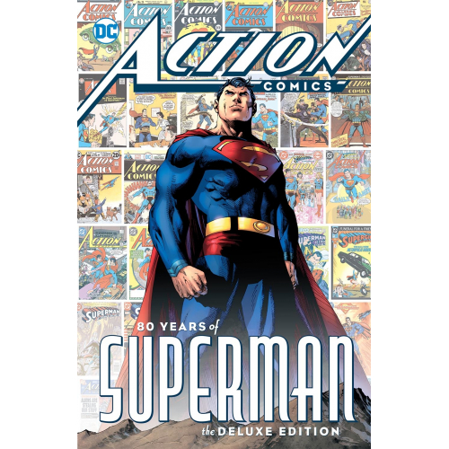 Action Comics - 80 years of superman Companion HC (VO)