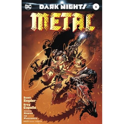 DARK NIGHTS : METAL 6 KUBERT VARIANT (VO)