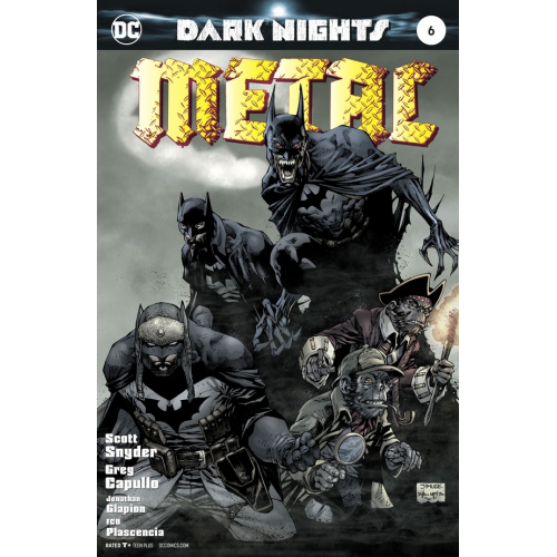 DARK NIGHTS : METAL 6 LEE VARIANT (VO)