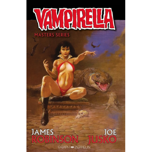 Vampirella par James Robinson Master Series Edition Collector Original Comics 200 Ex - Frank Frazetta