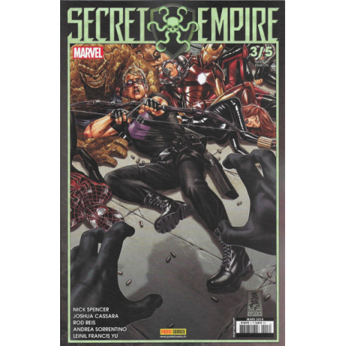 Secret Empire n°3 Édition Variante (VF)