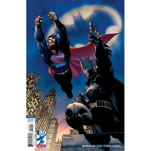 Batman 45 (VO) JIM LEE VARIANT 80 YEARS OF SUPERMAN
