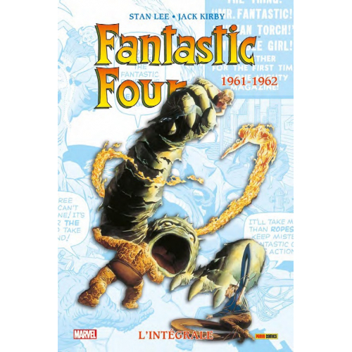 Fantastic Four - Intégrale 1961-1962 (NED) (VF)