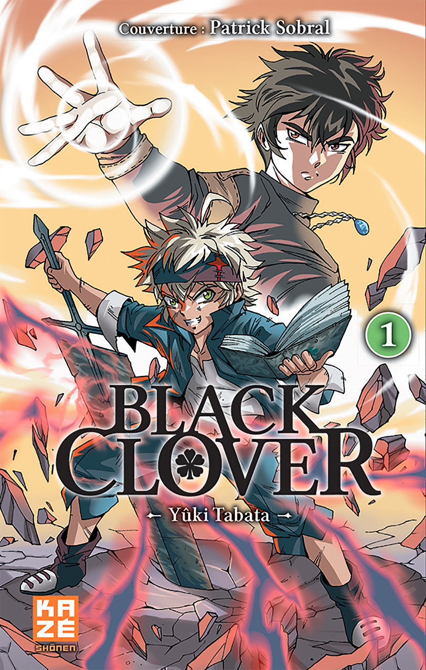 Black Clover Tome 1 Variant Cover (VF)