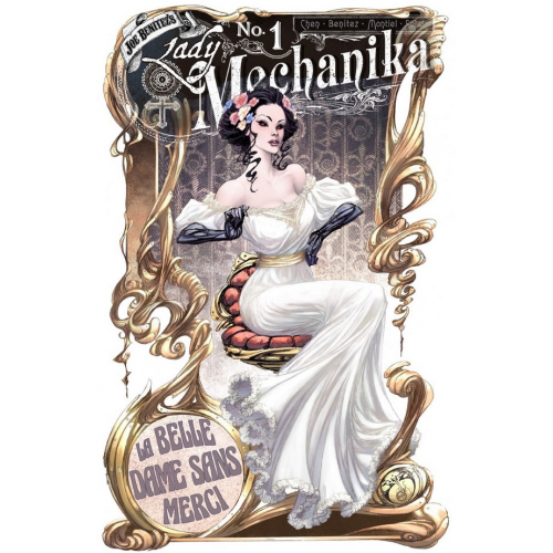 Lady Mechanika : La belle dame sans Merci 1 (VO) B