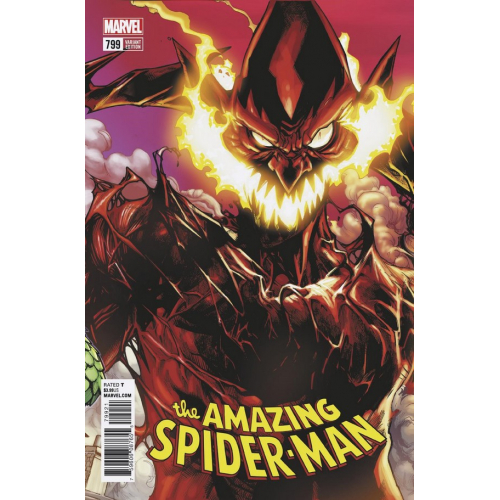 AMAZING SPIDER-MAN 799 Ramos Connecting Variant (VO)