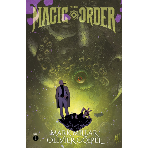 The Magic Order 1 (VO) Mark Millar - Olivier Coipel - Adam Hughes Variant