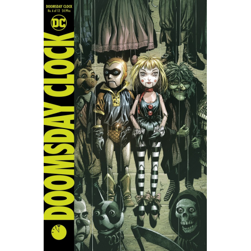DOOMSDAY CLOCK 6 Cover A (VO)