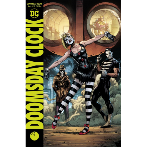 DOOMSDAY CLOCK 6 Cover B (VO)