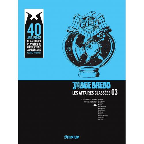 Judge Dredd : Affaires Classées tome 3 (VF)