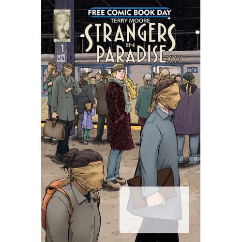 FCBD 2018 STRANGERS IN PARADISE XXV 1 (VO)