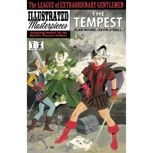 The League of Extraordinary Gentlemen: The Tempest 1 (VO)