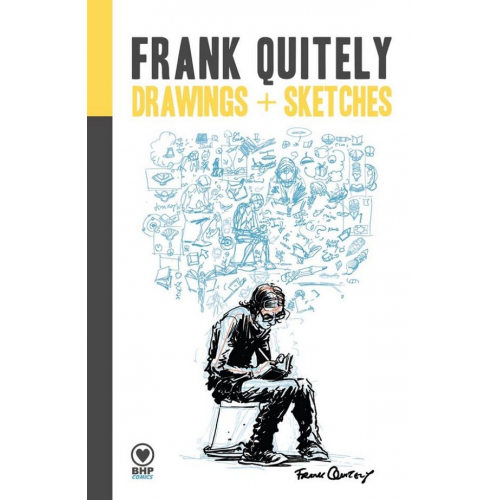 FRANK QUITELY - DRAWING & SKETCHES ARTBOOK HC